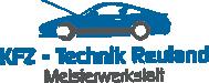 KFZ-Technik Reuland Logo